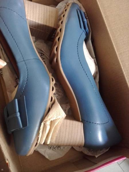 CHAUSSURES EN CUIR - TAILLE 37