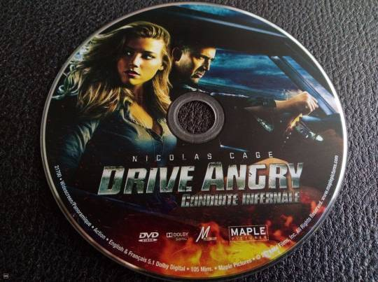 DVD - ''DRIVE ANGRY""