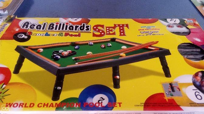 TABLE DE BILLARD POUR ENFANTS - weshare.mu