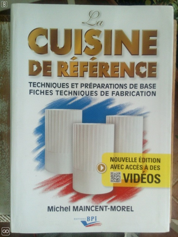 Livre La Cuisine De Reference Weshare Mu