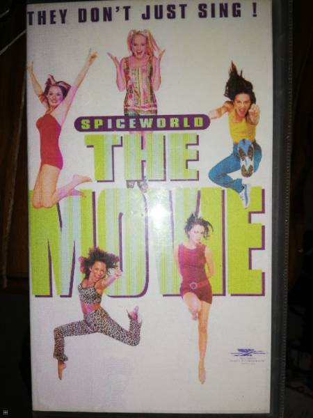 CASSETTE VHS - SPICE GIRLS-THE MOVIE