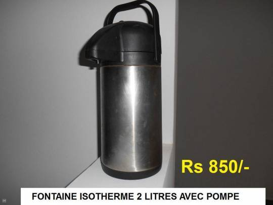 BOUTEILLE THERMOS BOISSON CHAUDE - FROIDE