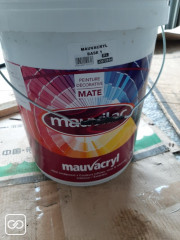"POT DE PEINTURE - MAUVILAC - 20L-""YORKSHIRE BROWN"""