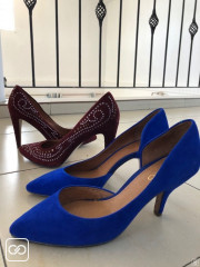 2 PAIRES DE CHAUSSURES - TAILLE 38