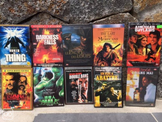 LOT DE 10 FILMES DVD