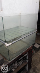 LOT DE 2 AQUARIUMS - 46 X 76 X 31 CM