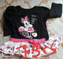 ROBE - MINNIE MOUSE - 1/2 ANS