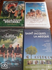 LOT DE 4 FILMS EN DVD