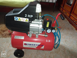 COMPRESSEUR D'AIR - POWERTECH - 24L