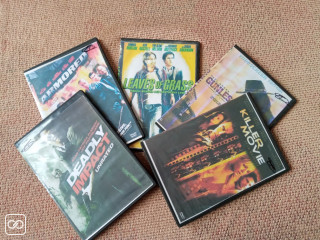 LOT DE 5 FILMS ACTION
