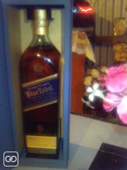 BOUTEILLE DE WHISKY - BLUE LABEL - 1L